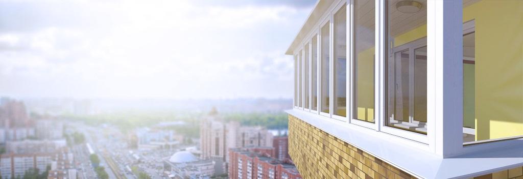 Цена остекления балконов